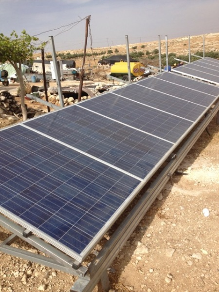 2011 solar panels in Susya, a community south of Hebron