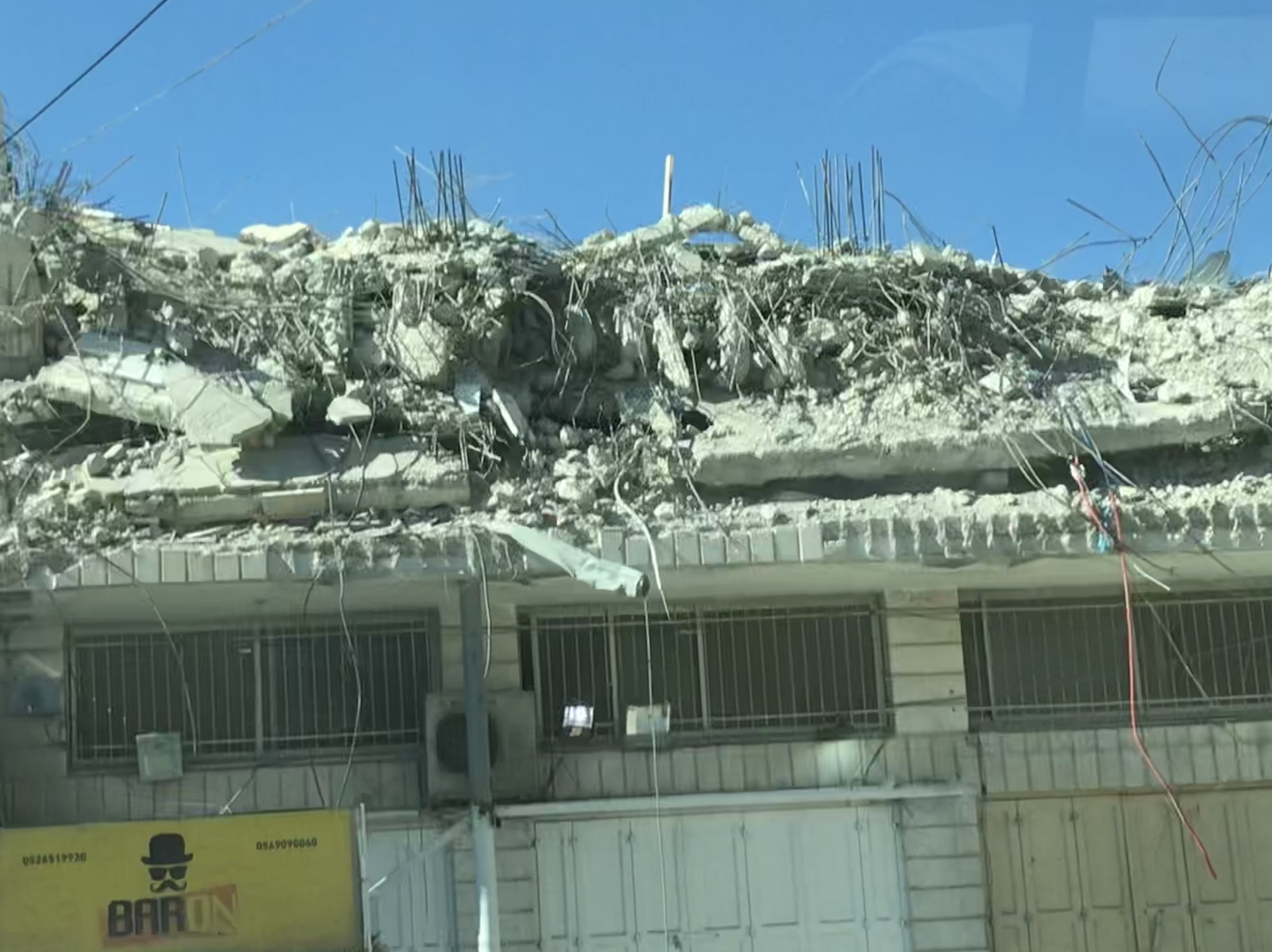 Passing through Qalandiya / November 5, 2019